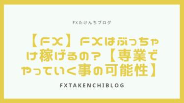 【FX】FXはぶっちゃけ稼げるの?【専業でやっていく事の可能性】